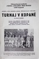 Friendly football tournament in Jablonec (04-05.08.1962) official programme
