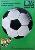 From A to Z about FIFA World Cup 1974