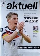 Germany - Poland UEFA Euro 2016 qaulification match programme (04.09.2015)