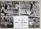 Germany - Poland World Cup 1974 match (06.07.1974) postcard