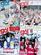 Gol Magazine 1993, 2004, 2005 i 2006 (Czech Republic, 4 items)