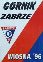 Gornik Zabrze spring 1996 program (Poland)