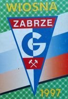 Gornik Zabrze spring 1997 program (Poland)