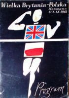 Great Britain - Poland (athletics, 06-07.09.1961) - official programme