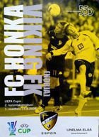 Honka FC - Viking FK UEFA Cup official match programme (14.08.2008)
