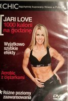 Jari Love. 1000 calories per hour DVD film