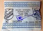 KS Apator Torun speedway old ticket