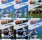 KZ Orzel Lodz 2007 speedway matches programmes (six items)