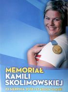 Kamila Skolimowska Athletic Memorial (22.08.2018) official programme