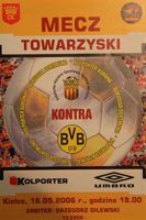 Korona Kielce - Borussia Dortmund (16.05.2006) - Friendly match official programme