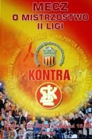 Korona Kielce - LKS Lodz II league official programme (07.05.2005)