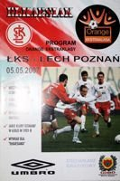 LKS Lodz - Lech Poznan Orange Ekstraklasa match (05.05.2007) official programme