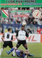 Legia Warsaw - Widzew Lodz I league (08.06.2004) official programme