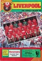 Liverpool FC - Lech Poznan European Champions Cup (03.10.1984) official programme
