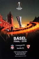 Liverpool FC - Sevilla FC UEFA Europa League 2016 Final official programme