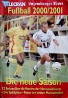 Luxembourg Football Leagues 1996-1997 Fans Guide (Telecran and Luxemburger Wort)