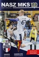 MKS Kalisz - Pogon Szczecin Superliga handball (24.02.2018) official programme