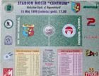 MKS Odra Wodzislaw Slaski - Amica Wronki I league (15.05.1999) official programme