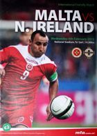 Malta - Northern Ireland friendly match programme (06.02.2013)