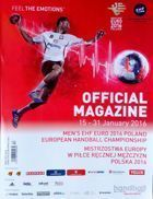 Men's EHF Euro 2016 Poland European Handball Championship official magazine
