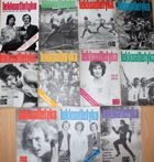 Monthly magazine Athletic - Yearbook 1974 (nr 1-7, 9-12)