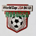 Morocco World Cup USA'94 (enamel; with signature)