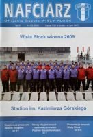 Nafciarz (the official magazine of Wisla Plock) nr 51 - Wisla Plock football team Spring round 2009
