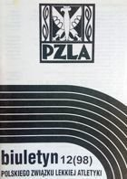 Newsletter Polish Athletics Association 12/1998