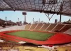 Olympic Stadium in Munich pitch postcard