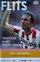 PSV Eindhoven - SSC Napoli UEFA Europa League (04.10.2012) official programme
