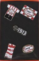 PSV Eindhoven - set of 5 badges (original packaking)