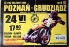 PSZ Milion Team Poznan - GTZ Grudziadz speedway ticket match (24.06.2007)