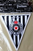 Partizan Belgrade pennant (official product)