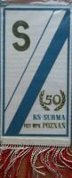 Pennant KS Surma WPK Poznan 50th anniversary in 1979
