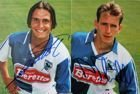 Photo's Alexandre Comisetti and Pascal Thurel (Grasshopper-Club) with original autograph's