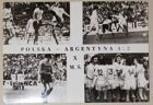 Poland - Argentina World Cup 1974 match (15.06.1974) postcard