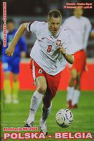 Poland - Belgium (17.11.2007) - Official matchday programme Euro 2008 qualification