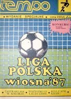 Poland Football Leagues Fans Guide Spring Round 1987 (Tempo Magazine)