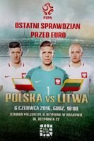 Poland - Lithuania friendly match (06.06.2016) official programme