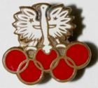 Poland Olympic Team (enamel)