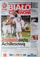 "Poland Olympic Team magazine ""Red-Whites"" for match Poland - Greece U-21 (19.11.2013)"