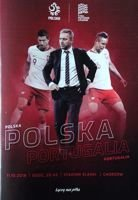 Poland - Portugal (11.10.2018) and Poland - Italy (14.10.2018) UEFA Nations League official programme