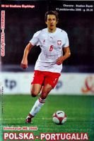 Poland - Portugal Euro 2008 qualification match official programme (11.10.2006)