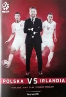 Poland - Republic of Ireland firendly match (11.09.2018) official programme