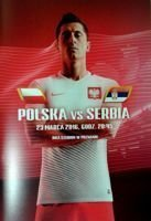 Poland - Serbia (23.03.2016) and Poland - Finland (26.03.2016) friendly matches official programme