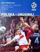 Poland - Uruguay friendly match official programme (14.11.2012)