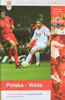 Poland - Wales (07.09.2005) - World Cup 2006 match qualification official programme