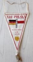 Poland - West Germany U-21 match (Wloclawek, 04.04.1973) pennant