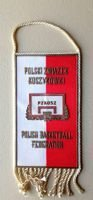 Polish Basketball Federation pennant