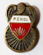 Polish Cycling Association (enamel)